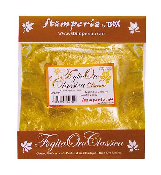 Artemarket Foglia Oro Doratura vendita online Stamperia Rayher belle ...
