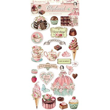 Stamperia DFLCB11 Sweety Clipboard