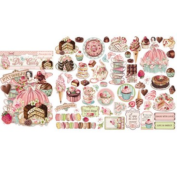 Stamperia DFLDC20 Sweety Die Cuts
