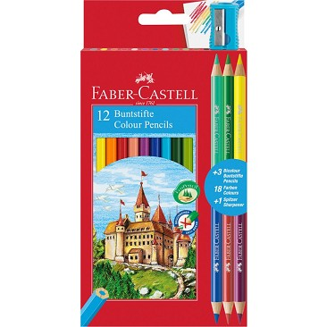 Faber Castell 110312 Matite Colorate Eco