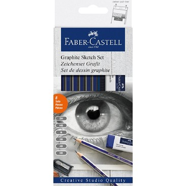 Faber Castell 114000 Grafite Sketch Set