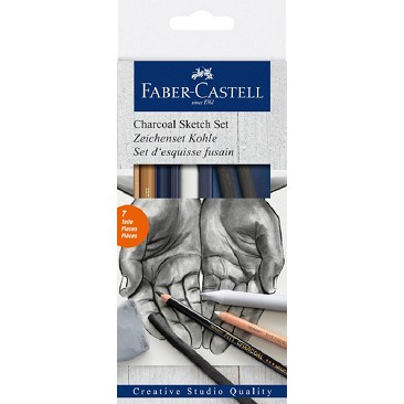 Faber Castell 114002 Carboncino Sketch Set
