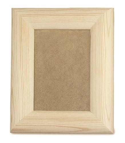 Artemarket cornice bombata rettangolare oggetti da decorare legno cornici - Oggetti in legno da decorare ...